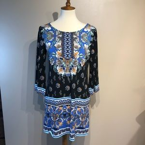 Alfani Womens Beaded Dress Size Small